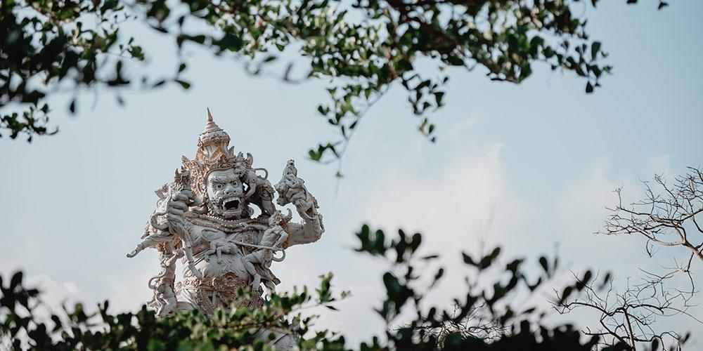 Statue at Uluwatu, Bali