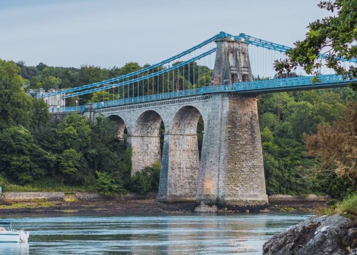 UK Staycations Menai Bridge Unsplash Humphrey Muleba